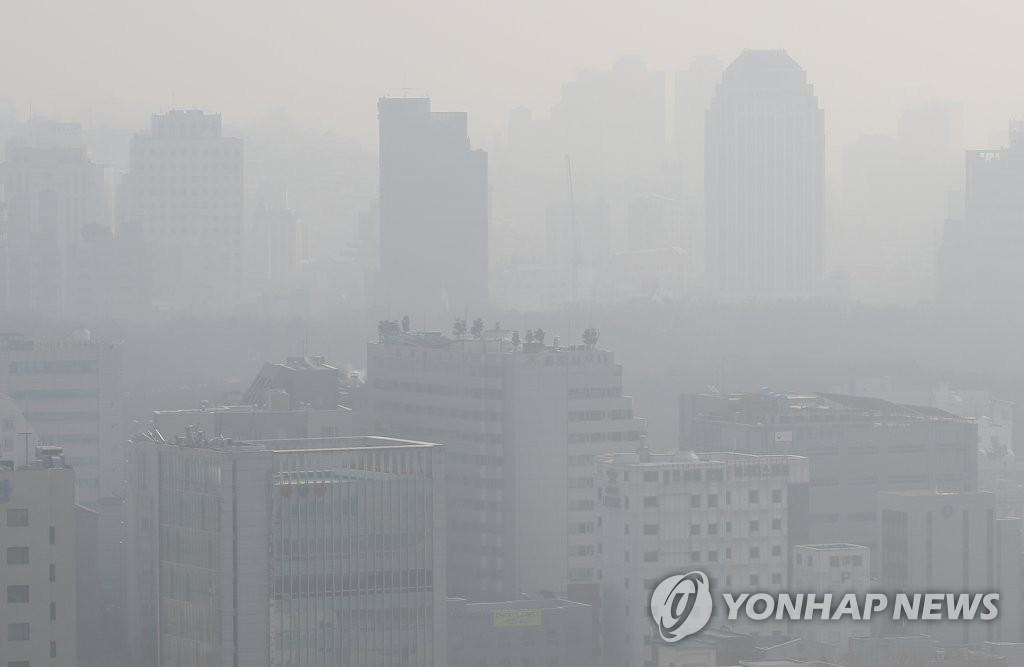 统计:首尔空气中颗粒物浓度为东京伦敦2倍