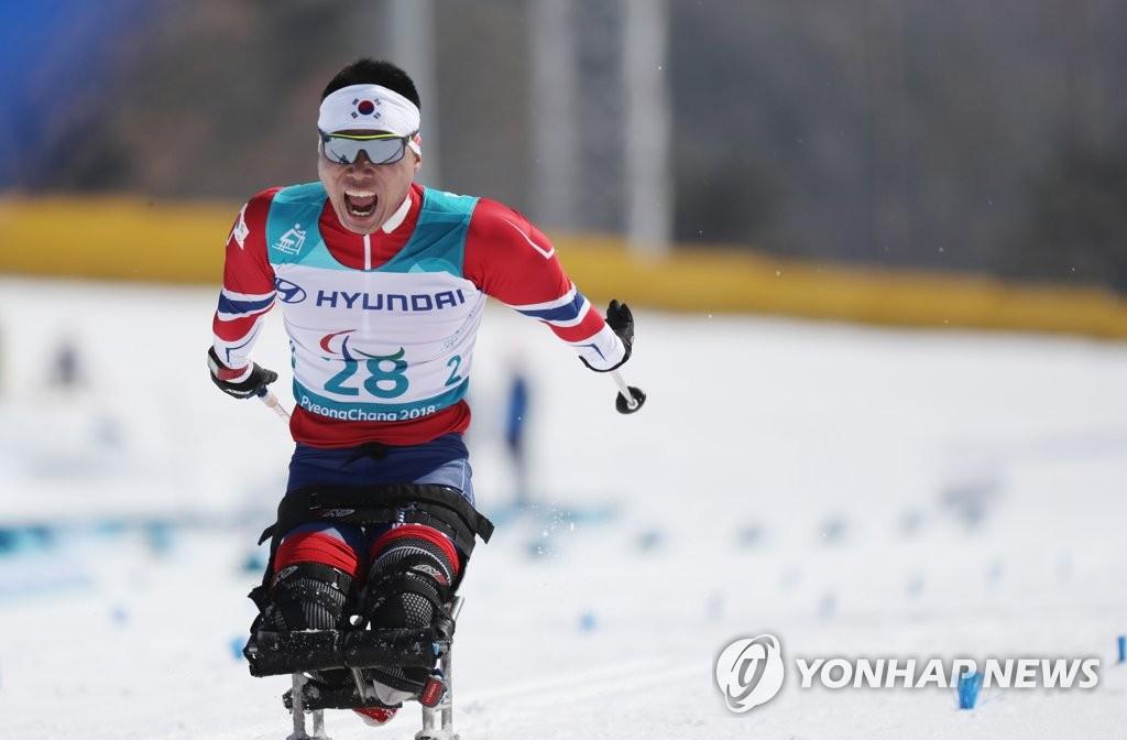 冬残奥会韩国首枚奖牌
