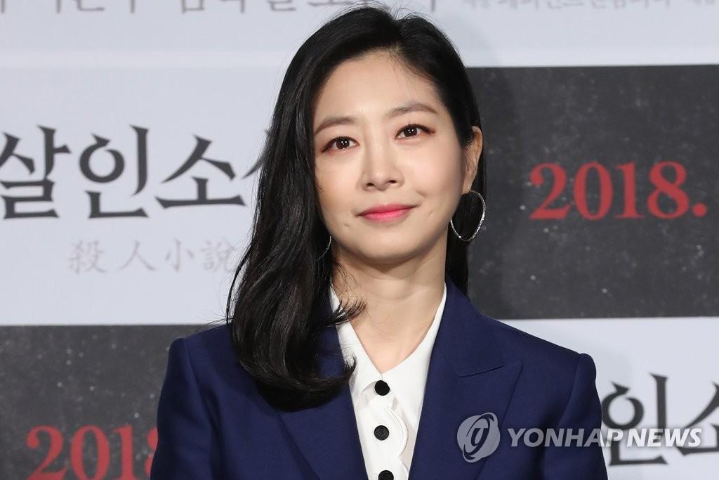 演员李恩宇露清秀笑容