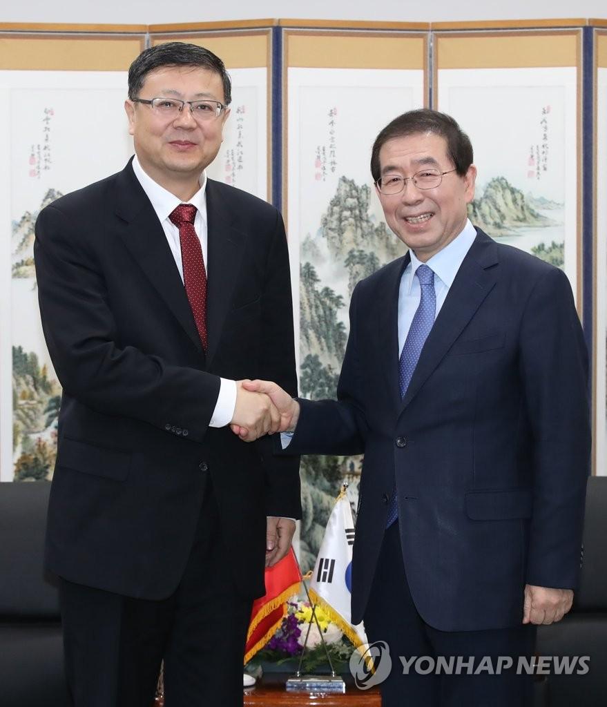 首尔与北京共商治霾良策