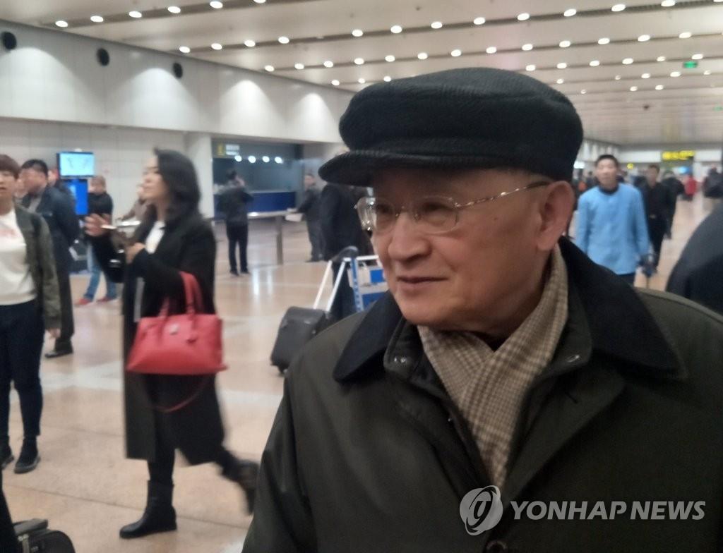 资料图片:朝鲜亚太和平委员会副委员长李种革(韩联社)
