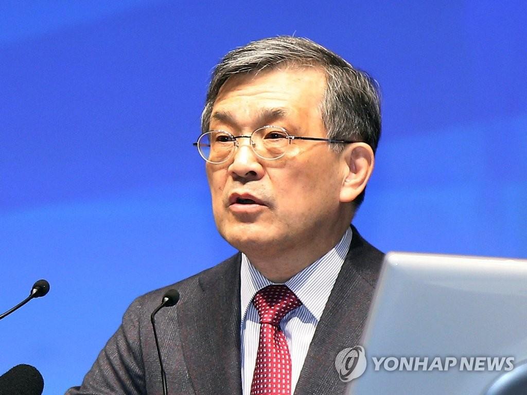 资料图片:三星电子顾问权五铉 韩联社