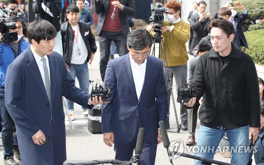 韩涉性侵前地方官到庭受审