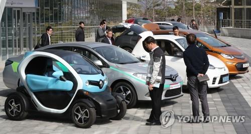 韩国汽车登记量近2400万 环保车破60万辆