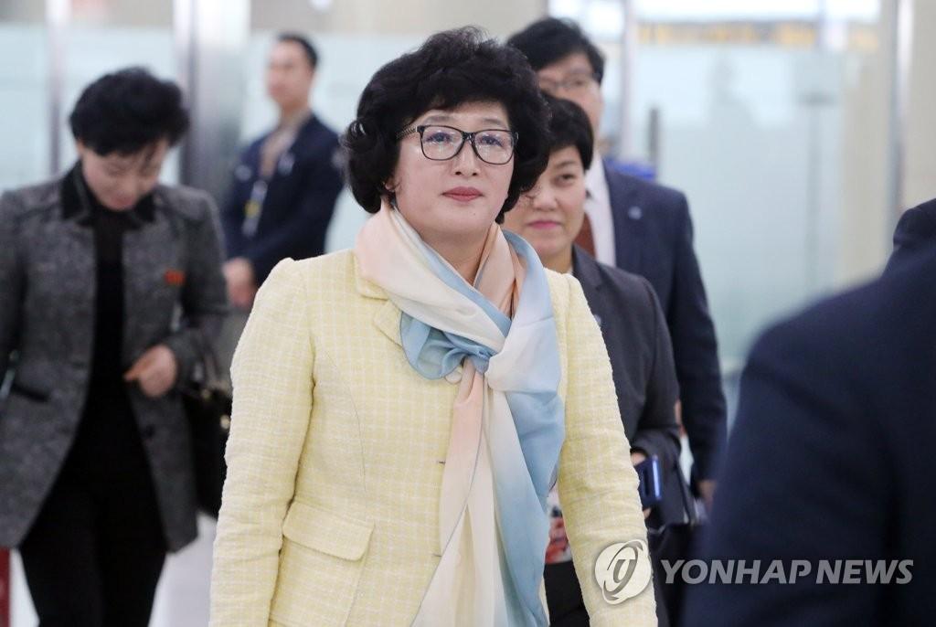 朝鲜足球协会副主席访韩
