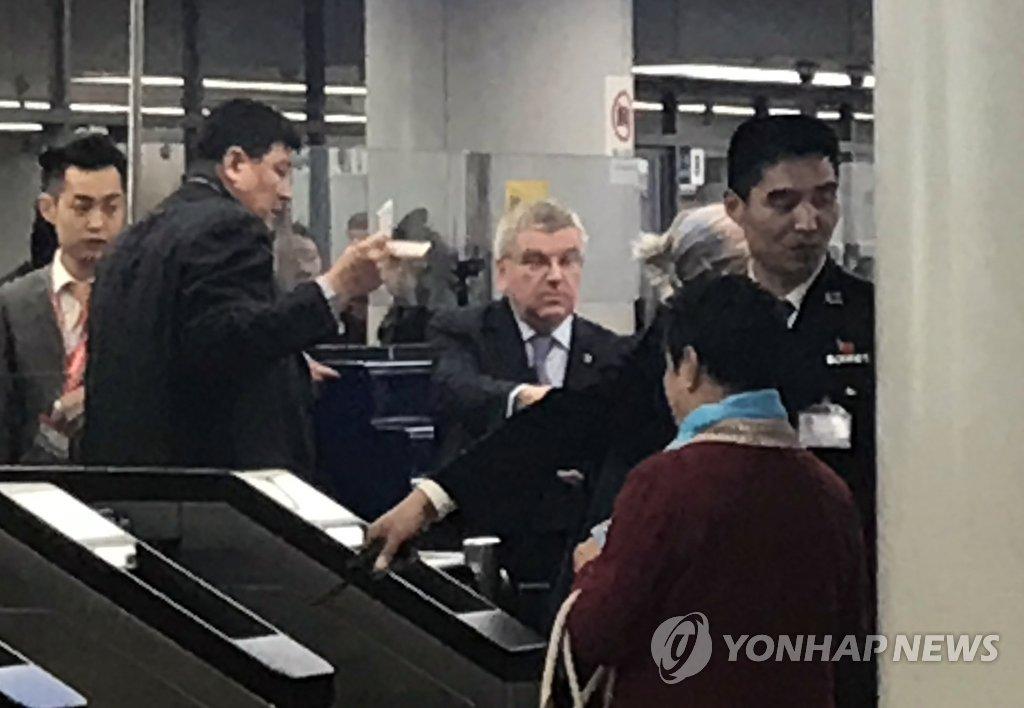 国际奥委会主席飞赴平壤