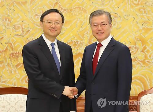 消息:中共中央政治局委员杨洁篪或下周访韩