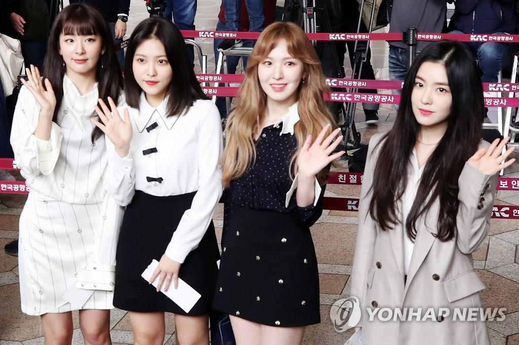 Red Velvet赴朝演出