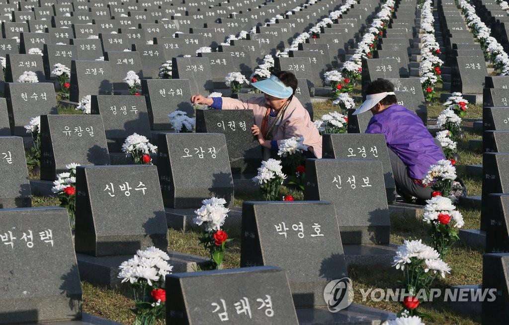 济州4·3事件遗属扫墓