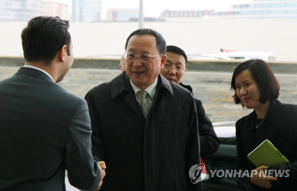 朝鲜外相访问阿塞拜疆