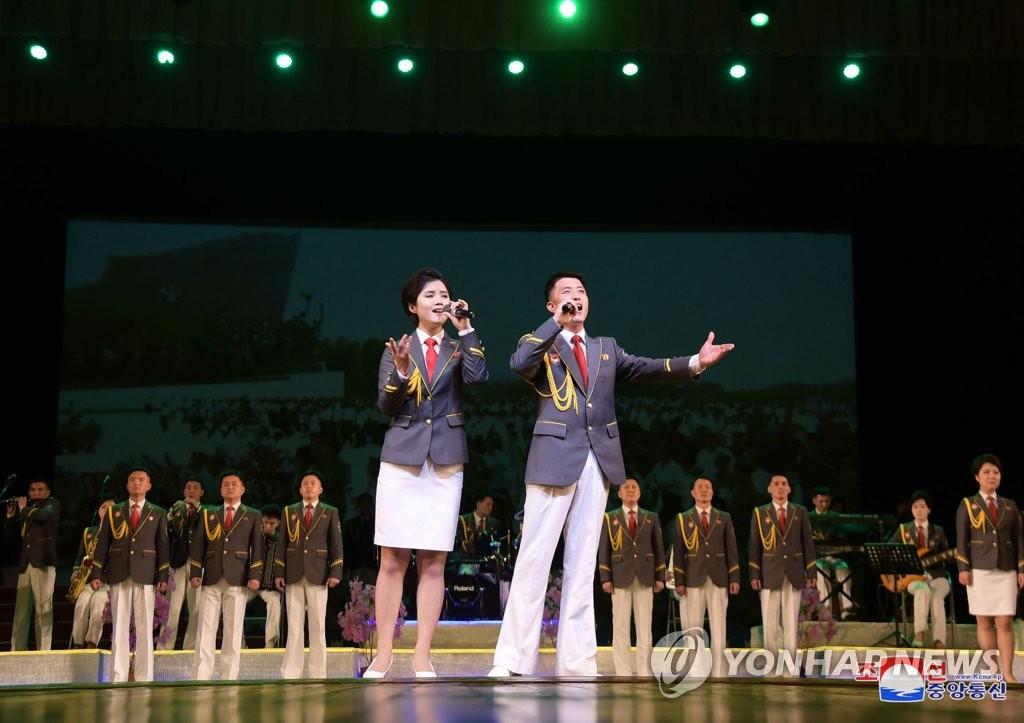朝鲜歌颂太阳节