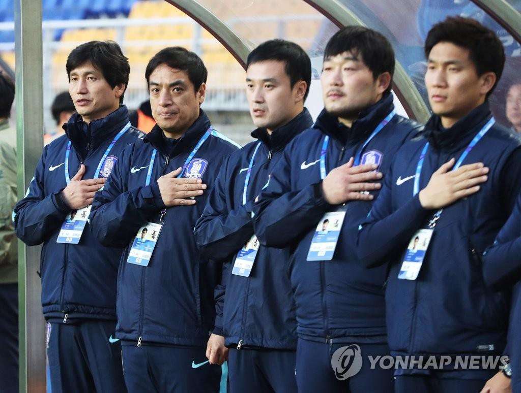 韩国足协致函亚足联抗议播错国歌