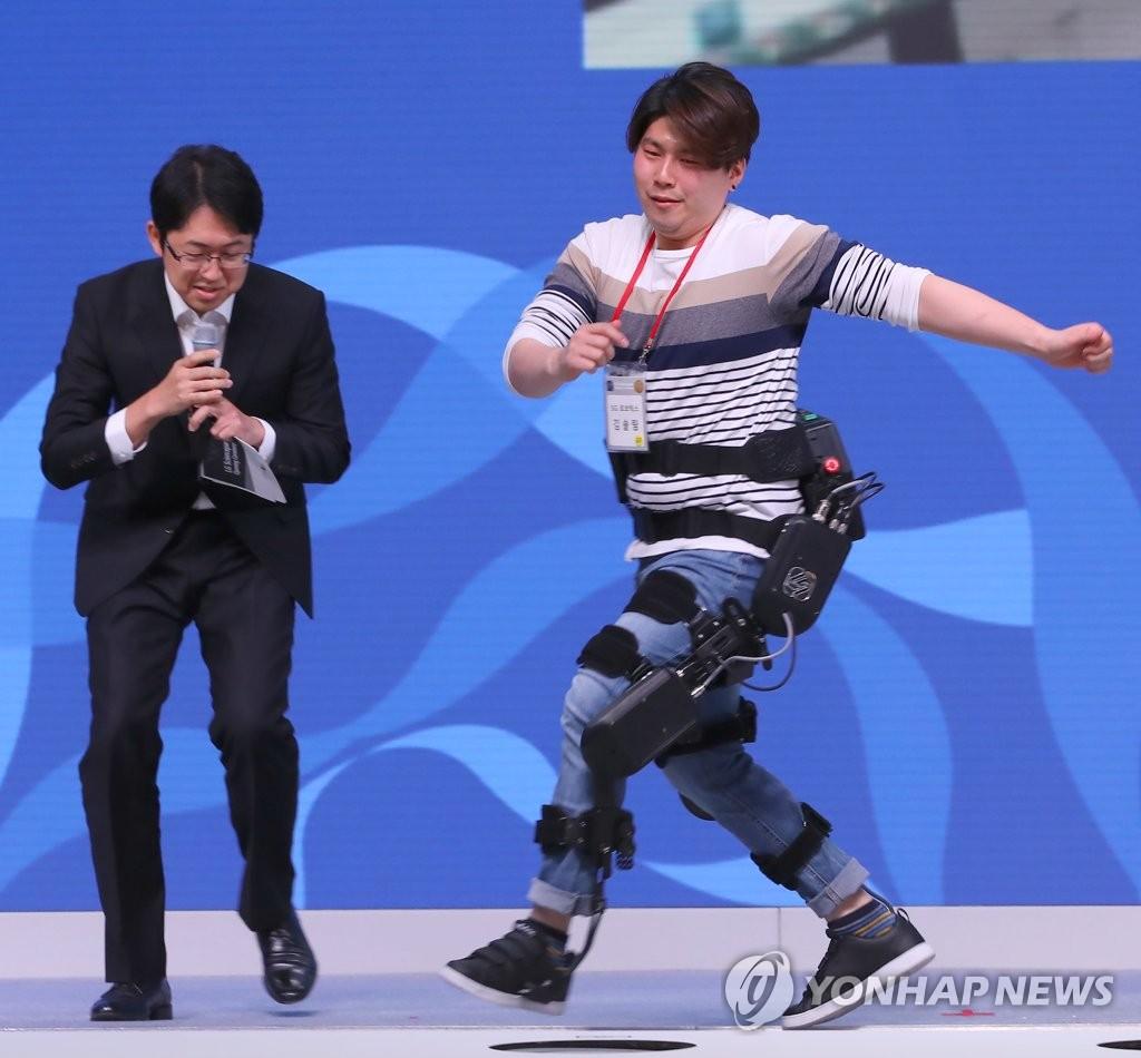 可穿戴型助力机器人闪亮登场