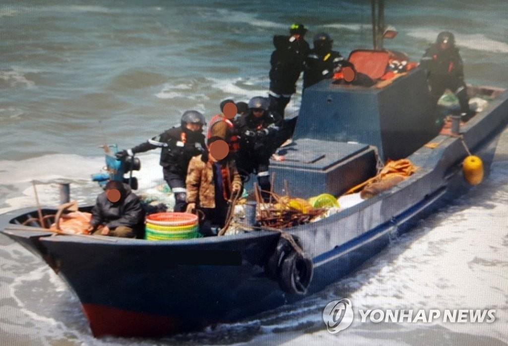 韩西部海域非法捕捞中国渔船骤增