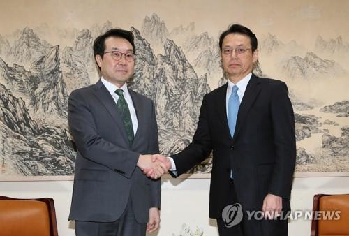 韩日对朝代表讨论无核化合作
