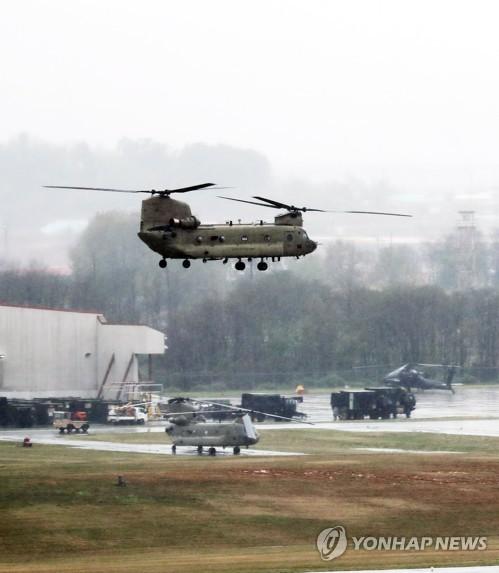 韩美空军低调启动联合演习