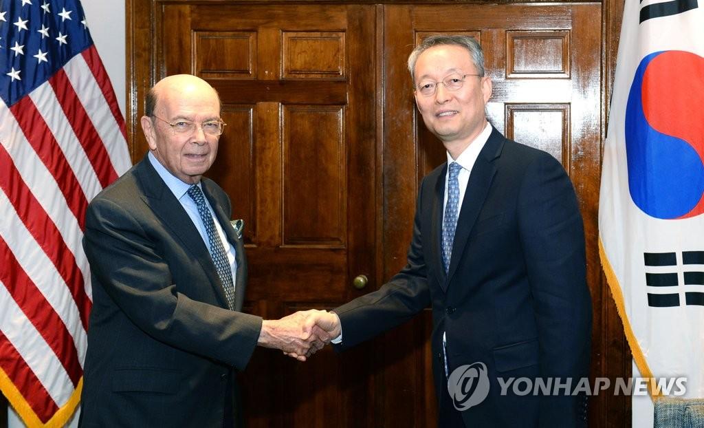 韩美商务部长会晤