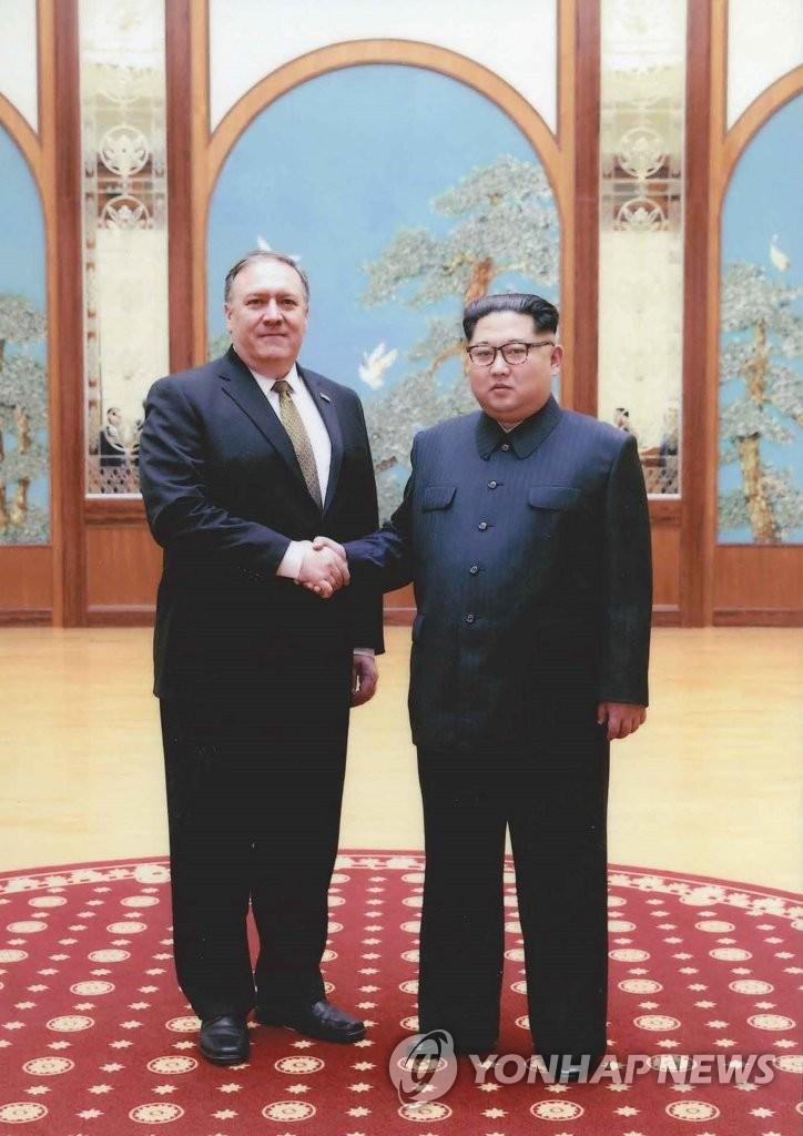 美国务卿与金正恩