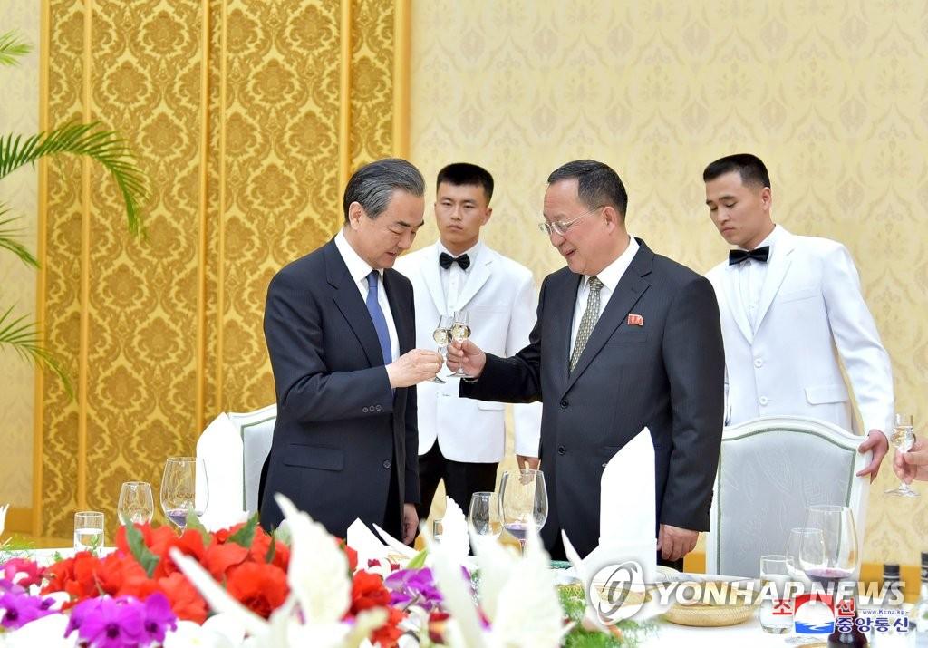 朝媒报道中国外长王毅即将访朝消息