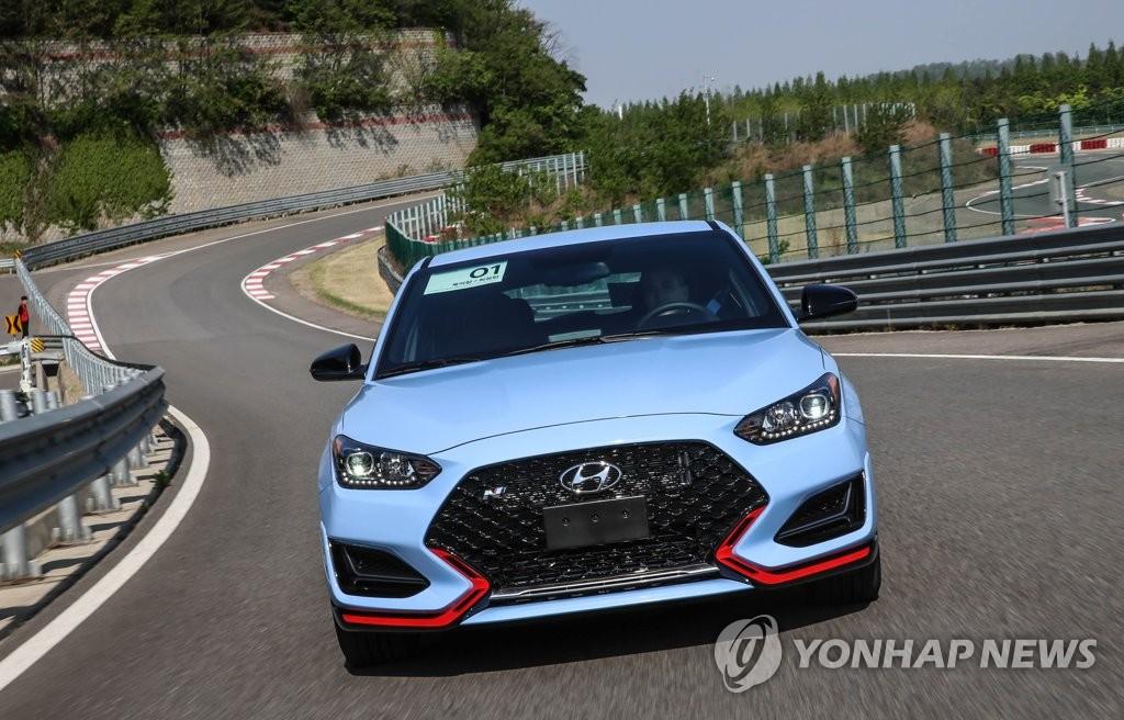 现代汽车高性能N系列亮相韩国