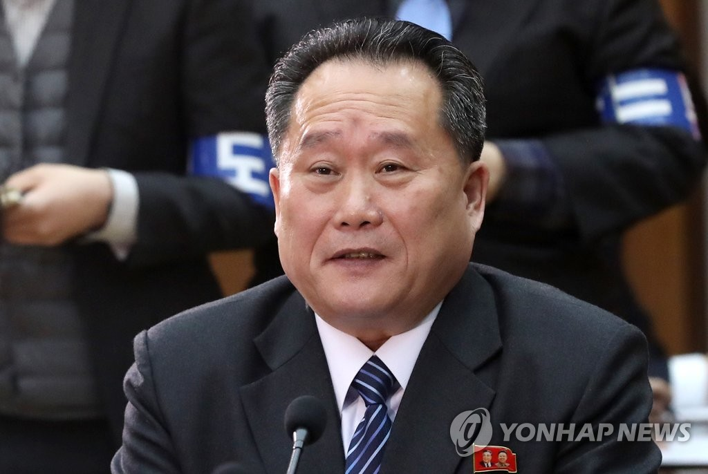 朝鲜祖国和平统一委员会委员长李善权(韩联社)