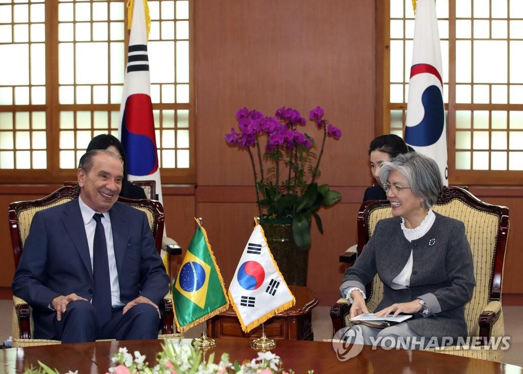 韩巴外长会晤