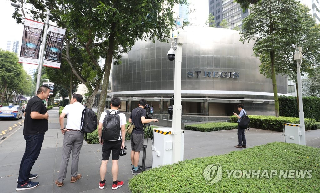 韩记者在狮城被扣留 韩政府提醒注意安全