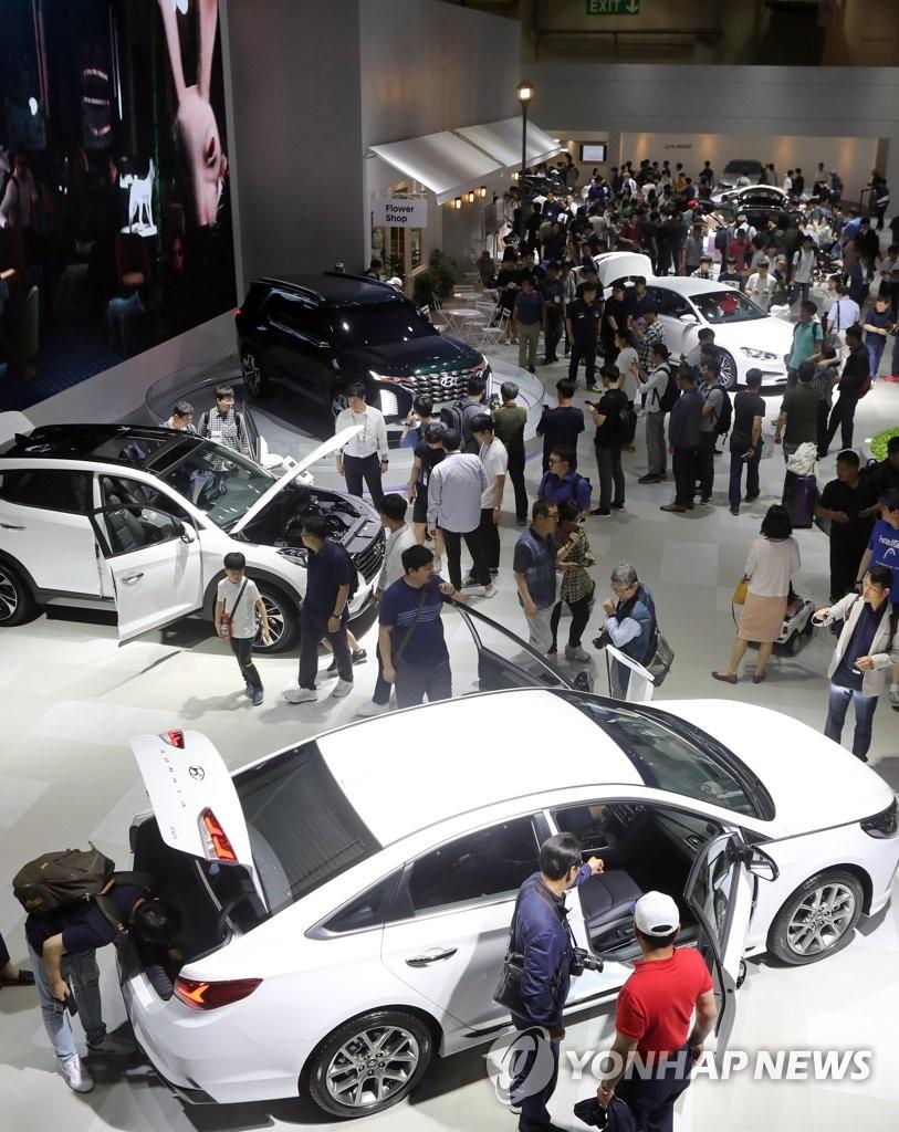 釜山车展公众开放日