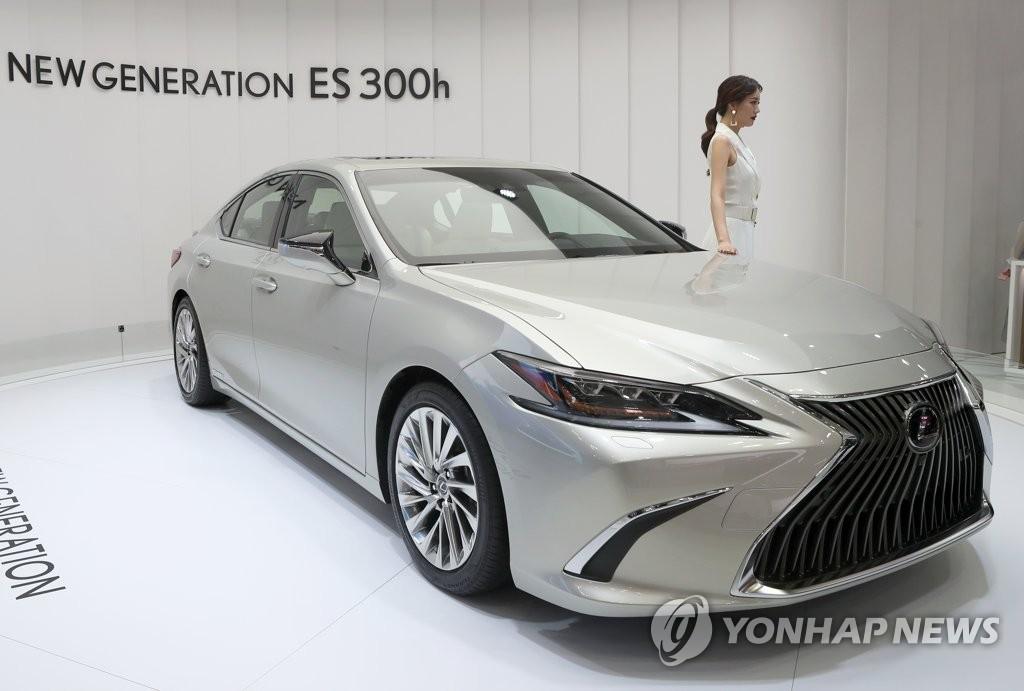 雷克萨斯ES300h亮相釜山车展