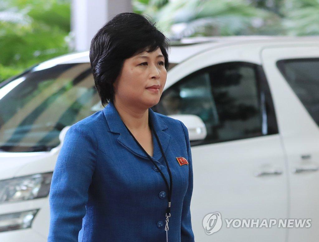 韩发行朝鲜人物大全新收大批对外事务主管