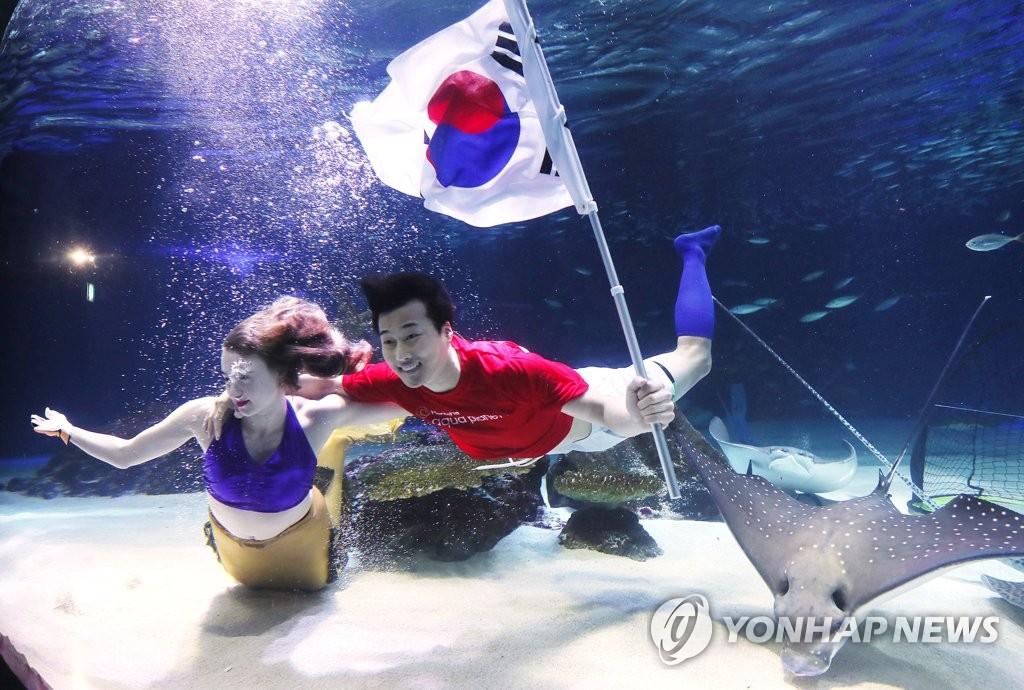 韩国足球加油