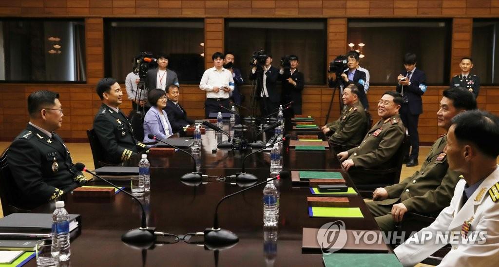 韩朝军事会谈