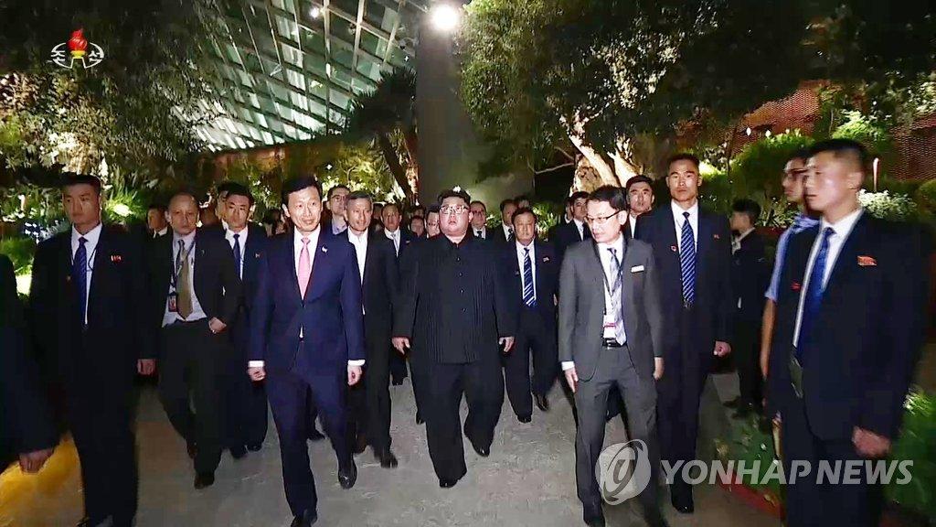 朝媒播放金正恩访新纪录片