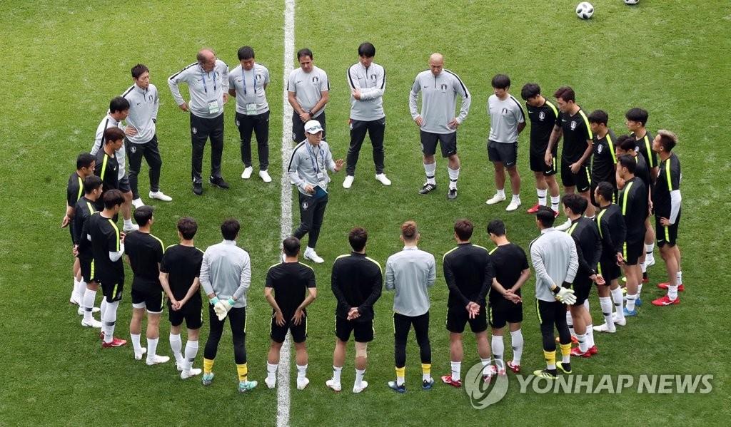 2018世界杯:韩国今迎首战对阵瑞典