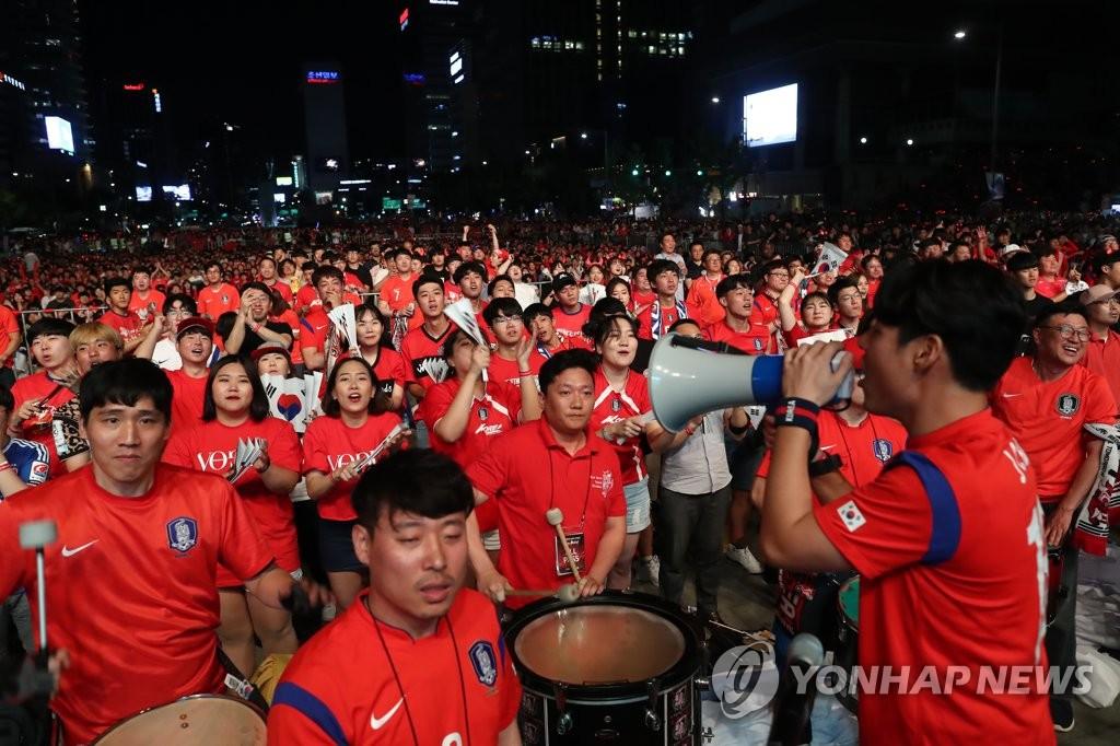 韩国队加油!