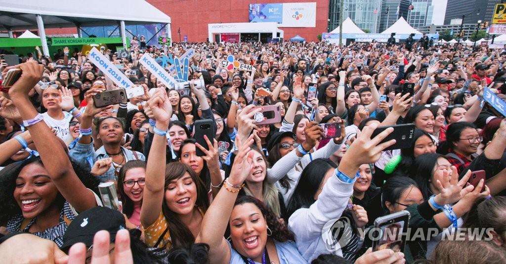 韩流文化盛典KCON风靡纽约