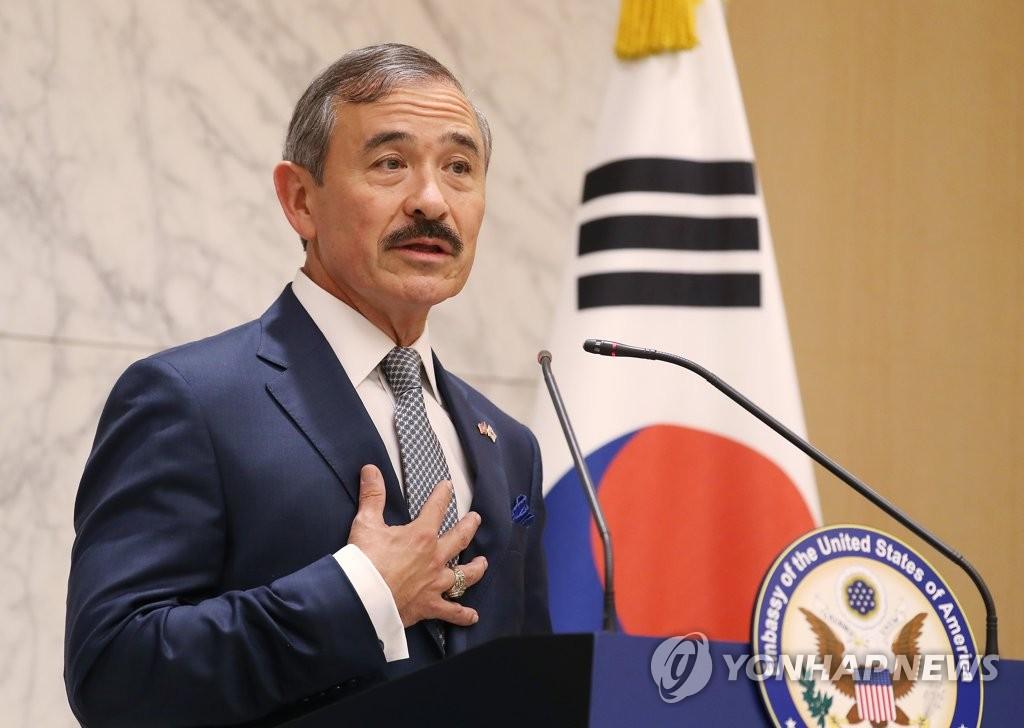 新任美国驻韩大使履新