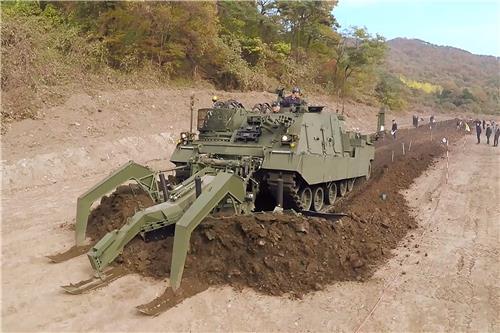 韩军:非军事区南侧扫雷至少耗时200年