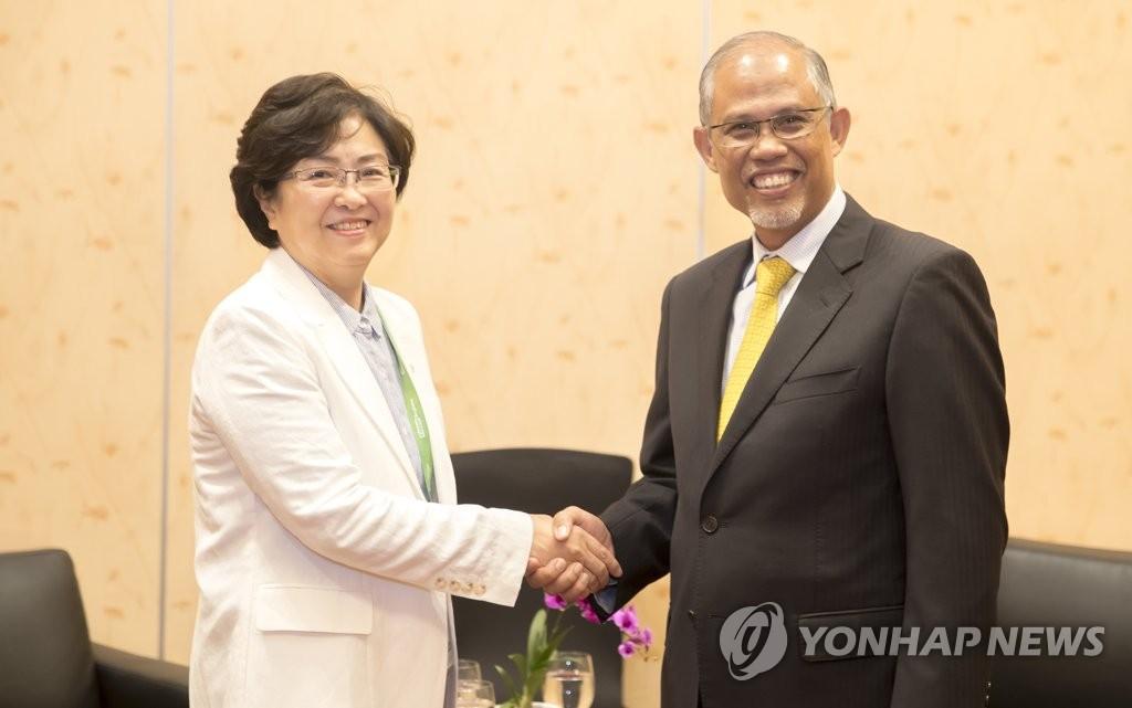 韩新环境部长会晤