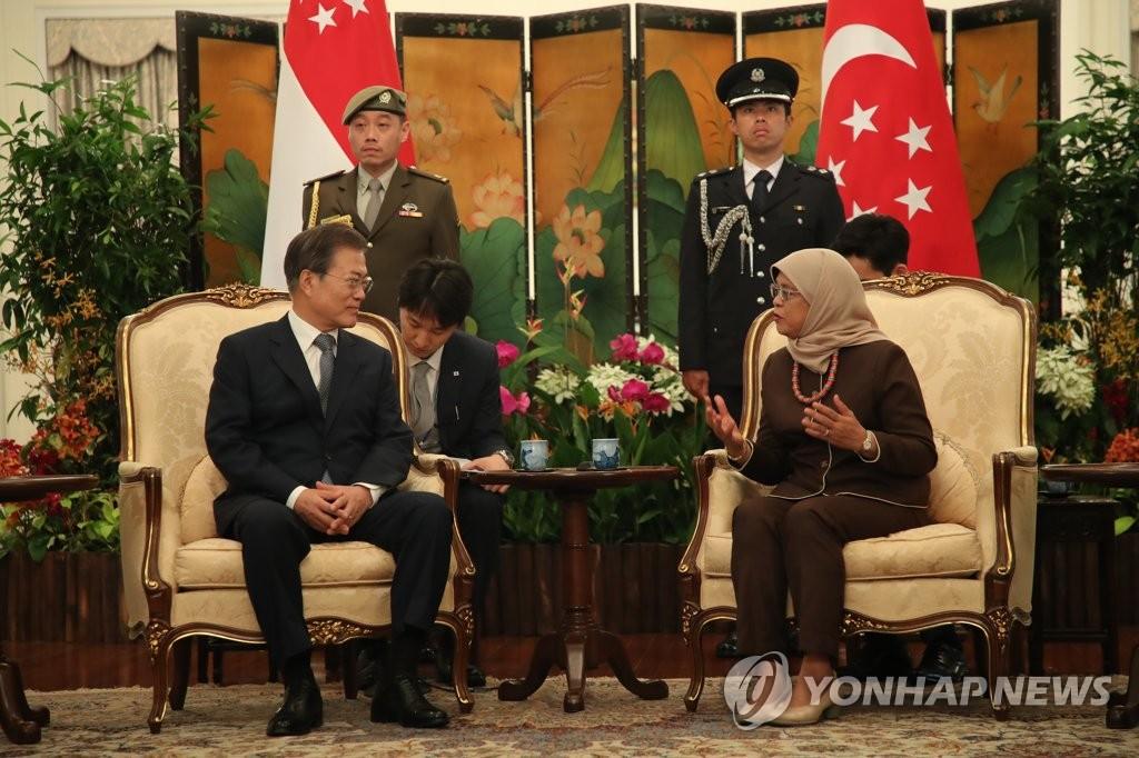 韩新总统会晤