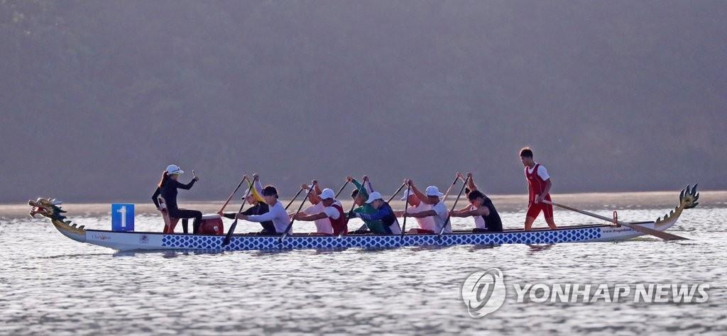 韩朝合力备战亚运会