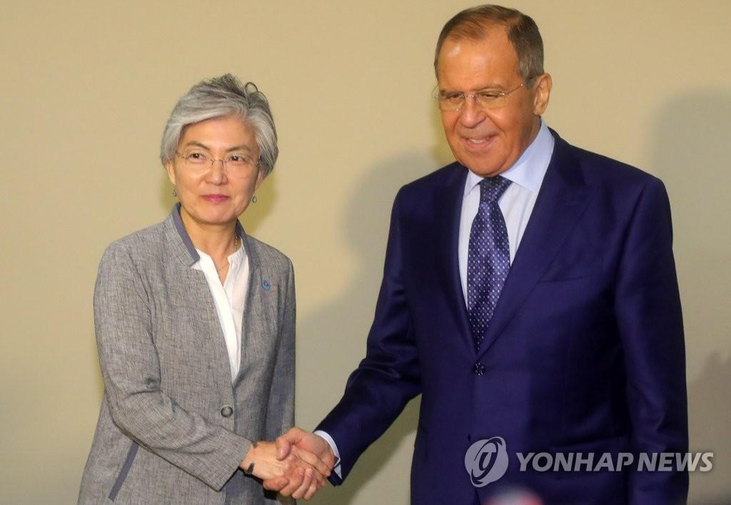 韩俄外长17日会晤讨论半岛局势