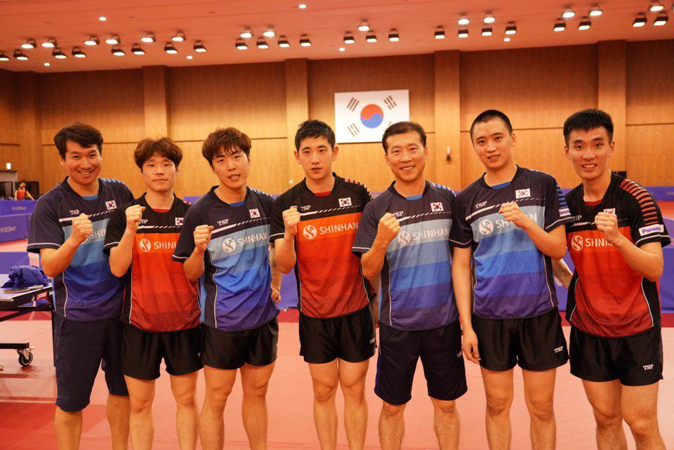 韩乒乓军团全盘布局冲刺亚运