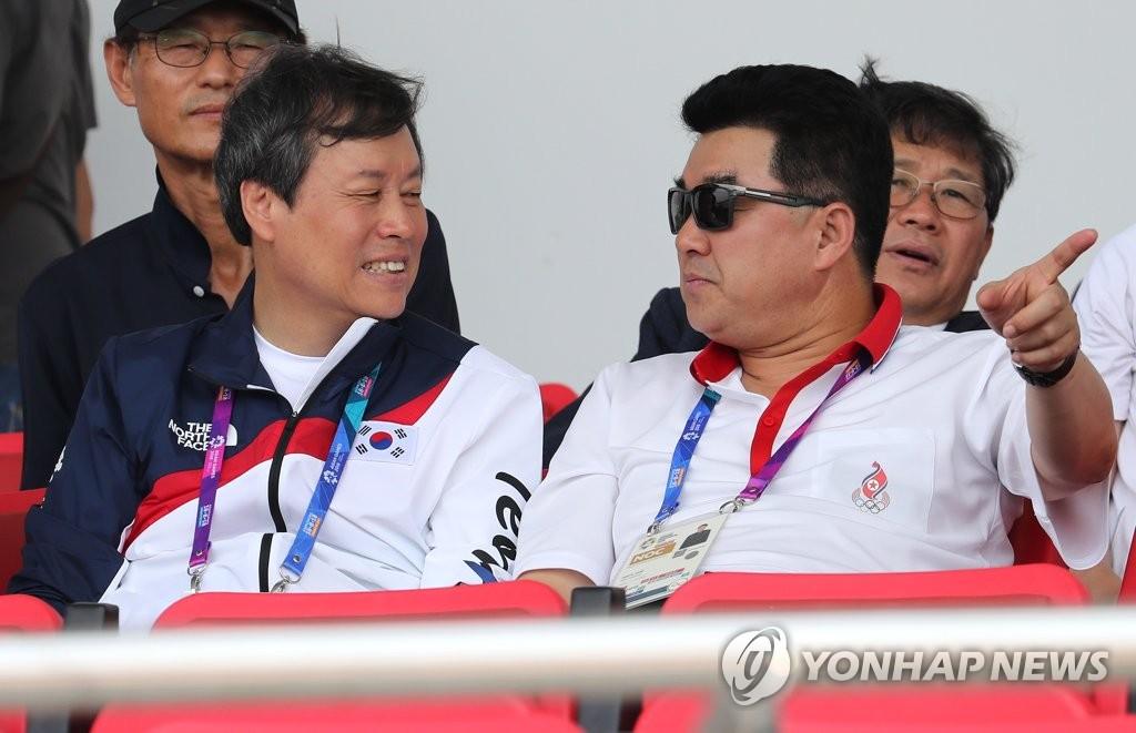 韩体育部长官向朝提议组建联队出战东京奥运