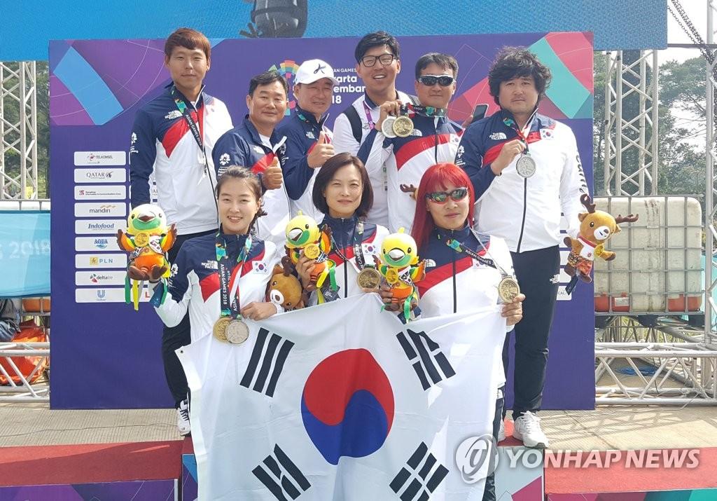 亚运滑翔伞越野女团韩国夺冠