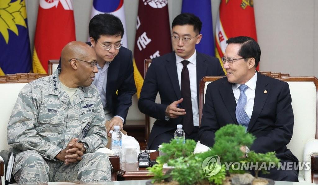 韩防长会晤美太平洋空军司令共商半岛无核化
