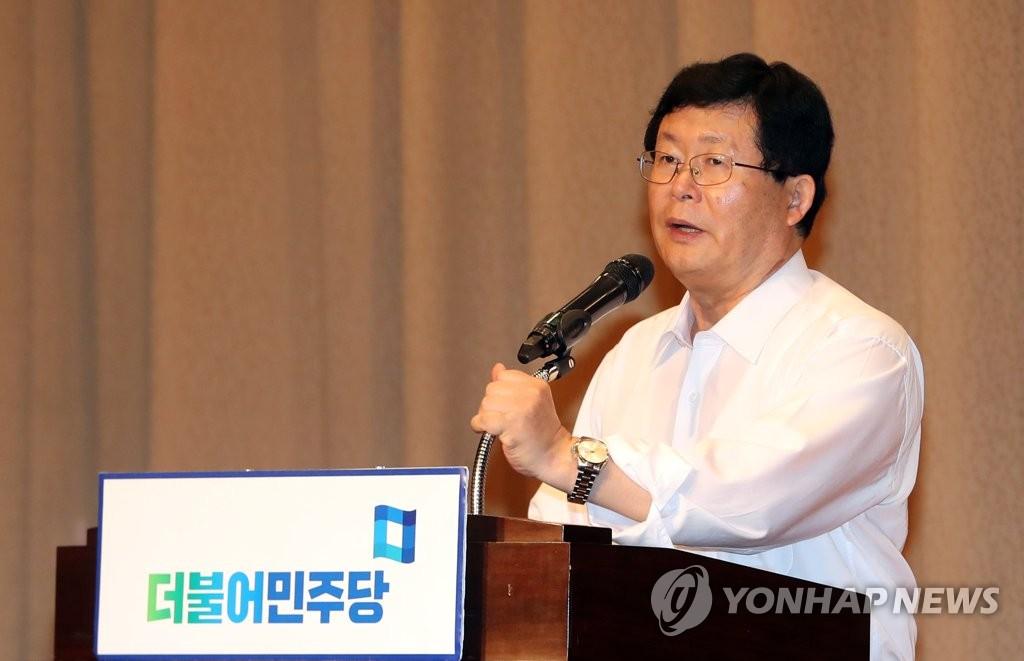 资料图片:共同民主党最高委员薛勋 韩联社