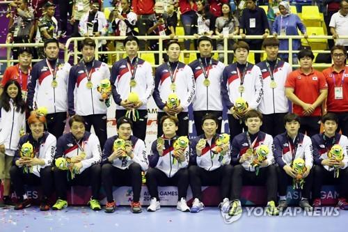男子手球韩朝联队将在德国合训备战世锦赛
