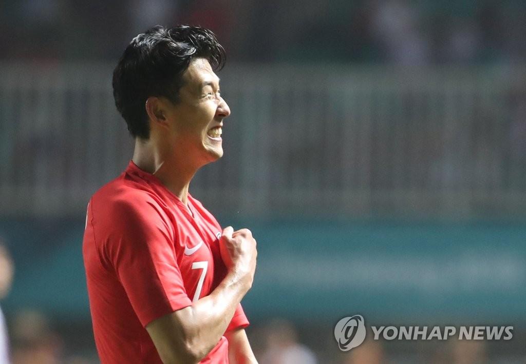 韩球星孙兴慜免兵役后身价超1亿欧元