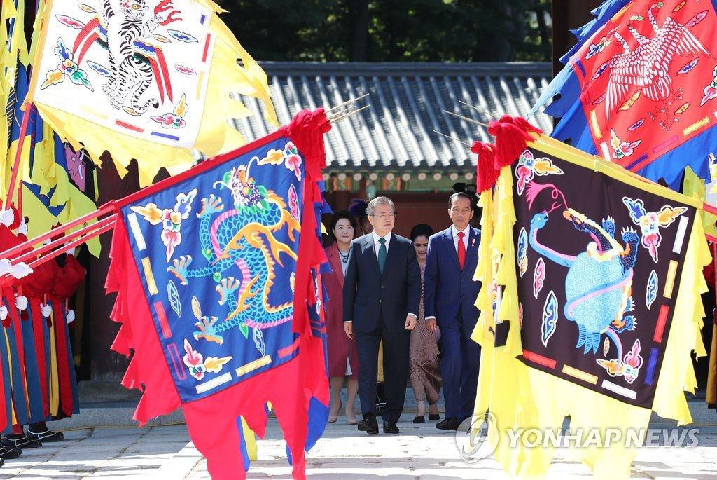 韩印尼首脑会晤 商定加强特别战略伙伴关系